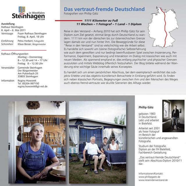 Einladung Ausstellung Phillip Gätz